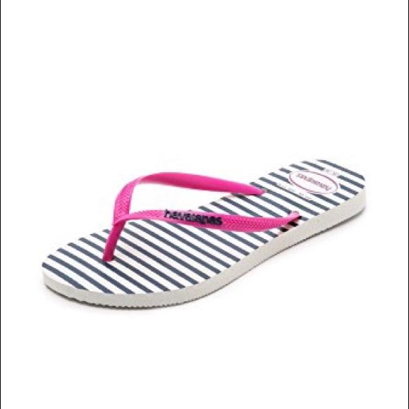 521cb367b83f Havaianas Shoes - Havaianas Slim Retro Stripe Flip Flops